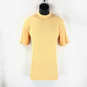 Men's Dressy Yellow T-shirt By LOG-IN UOMO